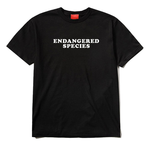 Endangered Species Black T-Shirt