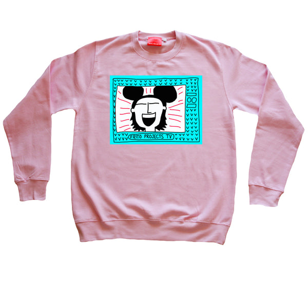 Mickey Mouse Girl TV Gum Sweater