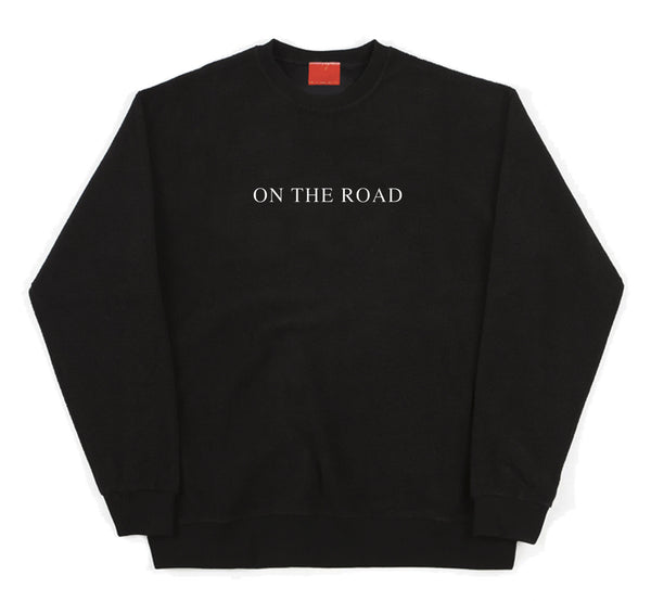 On The Road Black Sweater