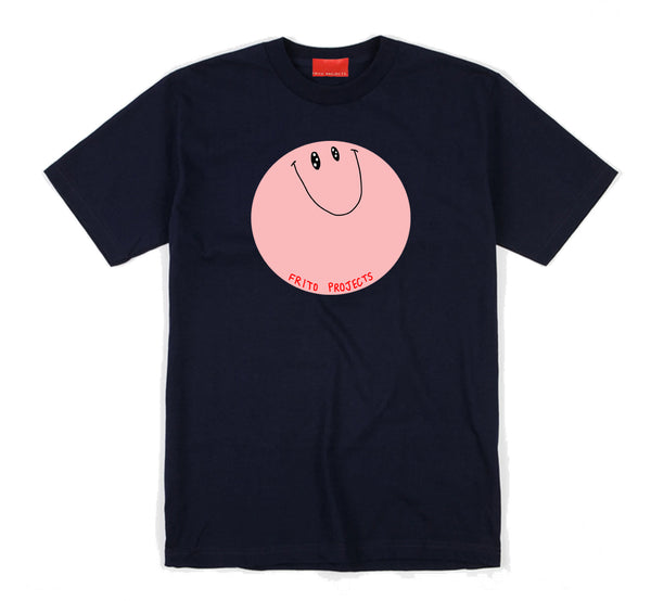 Smiley Navy Blue T-Shirt