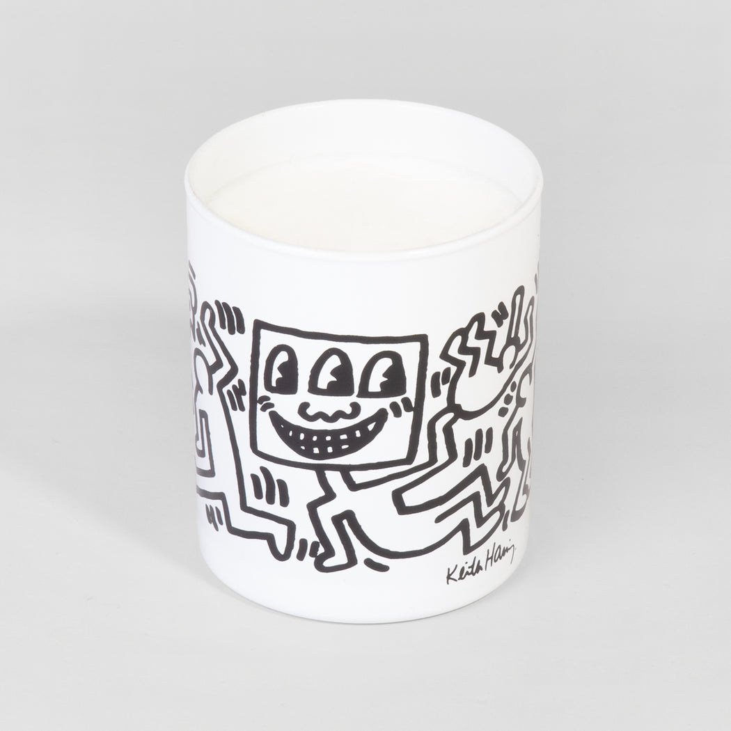 "Keith Haring ""White & Black"" Candle"