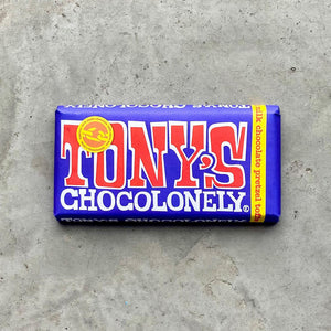 Tony's Chocolonely- Dark Milk Chocolate with Pretzels and Toffee