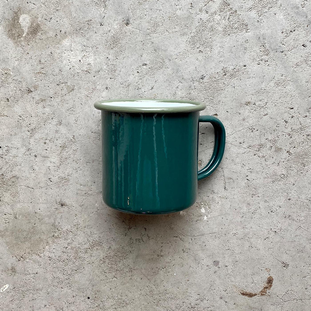 Load image into Gallery viewer, Falcon Enamelware: Mug (Teal)