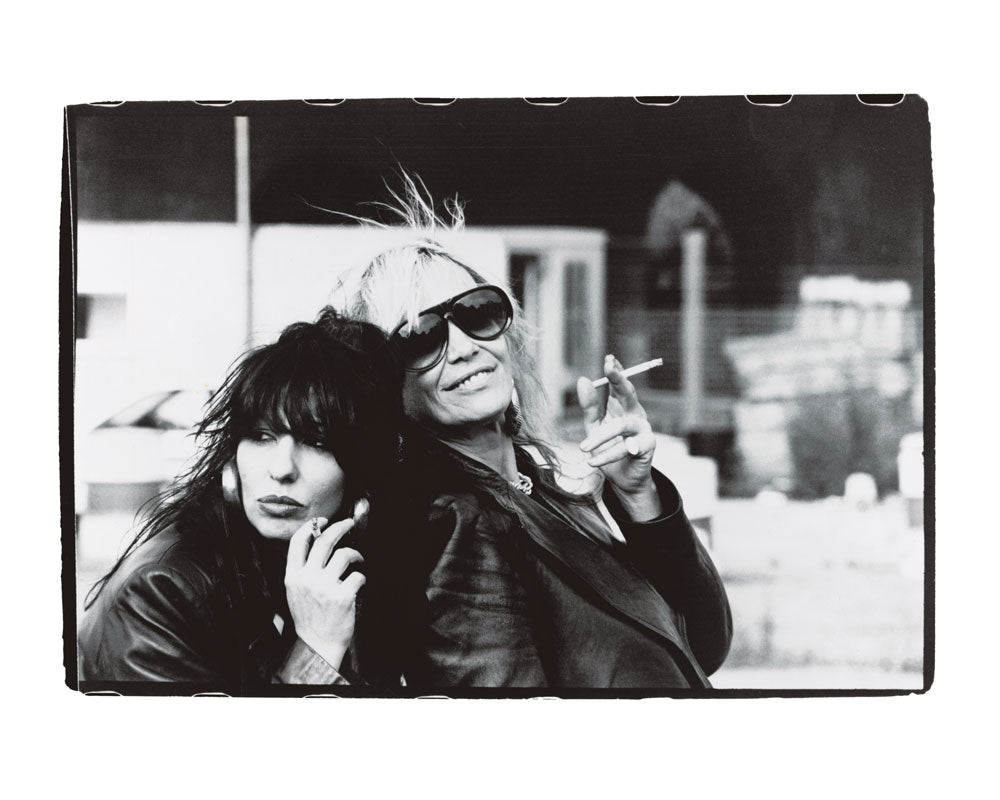 Patti Palladin & Anita Pallenberg, London 1997 by BP Fallon
