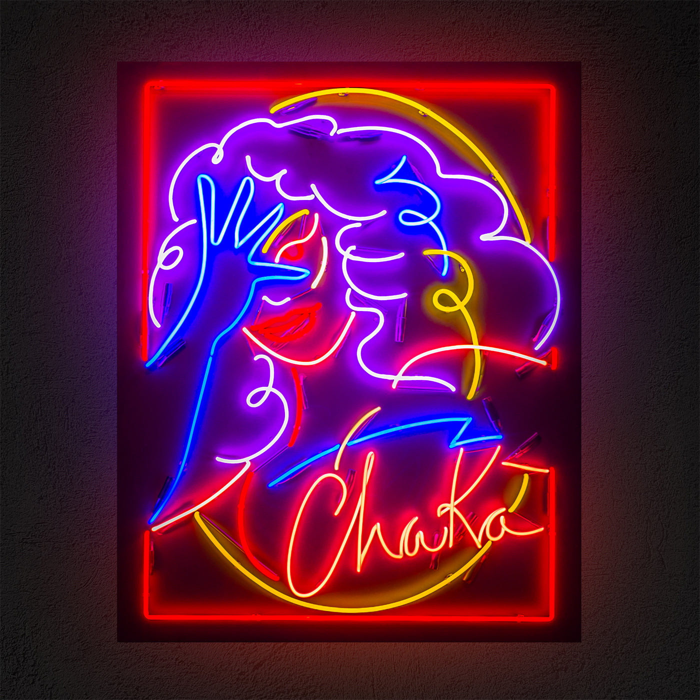 Chaka: Honey Dijon x Marina Esmeraldo: Black Girl Magic - Neon - Hen's Teeth Store