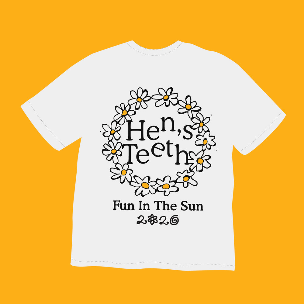Hen's Teeth: Daisy Age Tee - Hen's Teeth Store