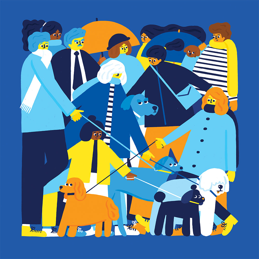 'I Wanna Be Your Dog' by Fuchsia Macaree from 60x60 collection