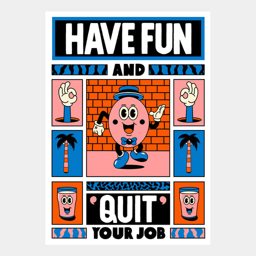 Quit Your Job by Yeye Weller