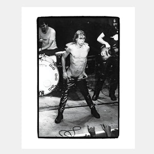 Load image into Gallery viewer, BP Fallon: Iggy Pop – Pubic Enemy #1 (Dublin 1996) - Hen's Teeth Store