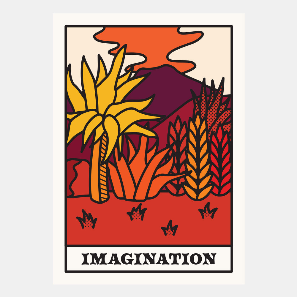 Jacob Burrill - Imagination - Hen's Teeth Store