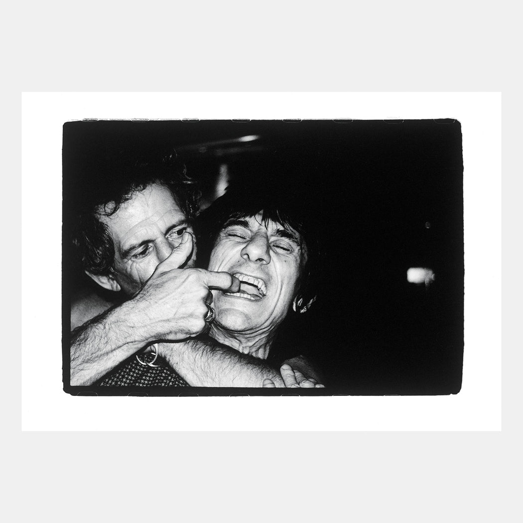Keith & Ronnie, Playing With Gums by BP Fallon