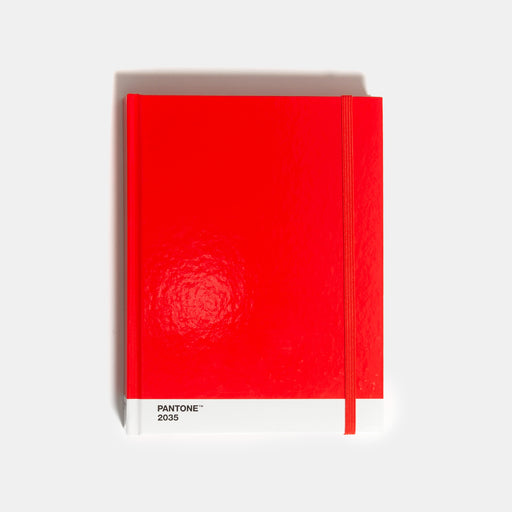 Pantone Notebook (Red, Large)