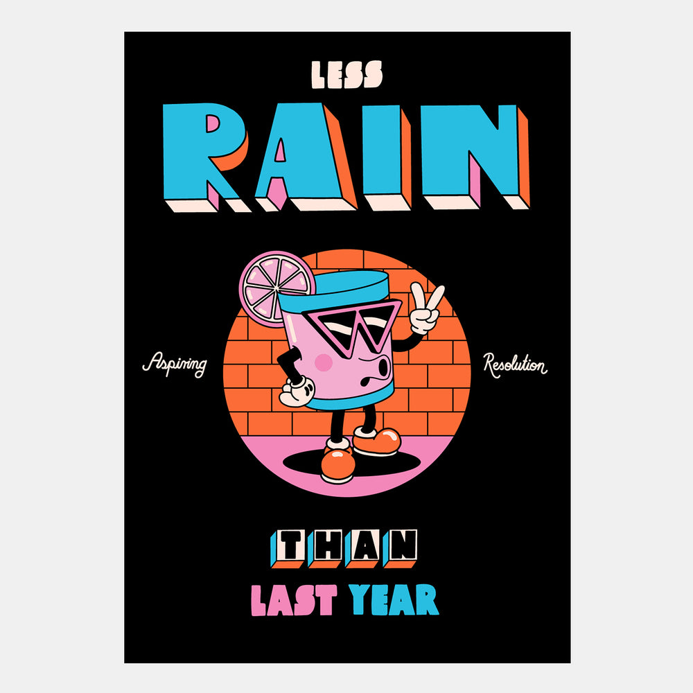Yeye Weller: Less Rain - Hen's Teeth Store