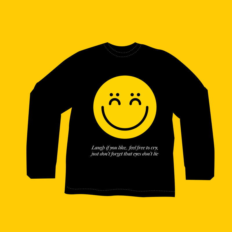 Hen's Teeth: Eyes Don't Lie L/S Tee (Black) - Hen's Teeth Store