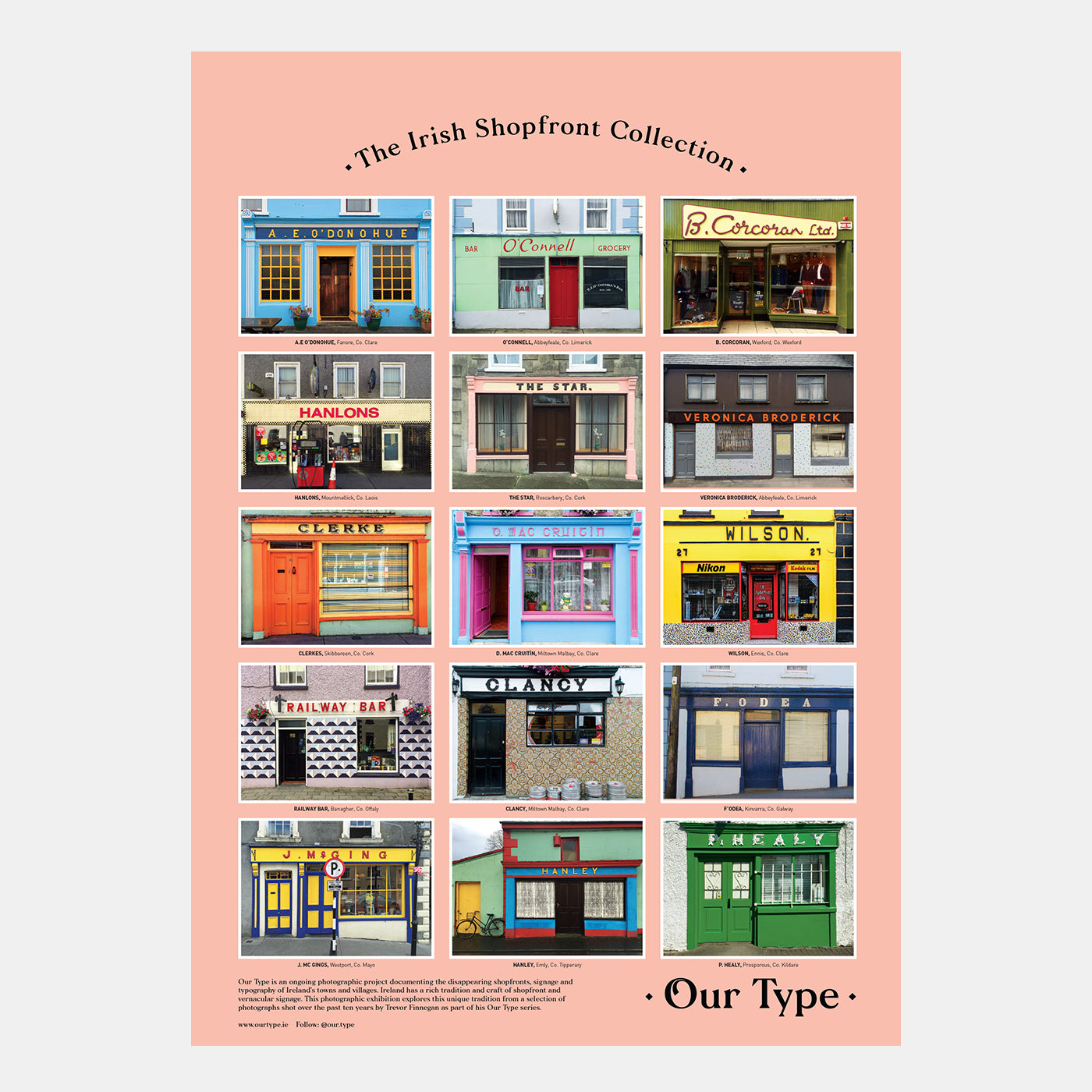 Trevor Finnegan: Irish Shopfronts - Hen's Teeth Store