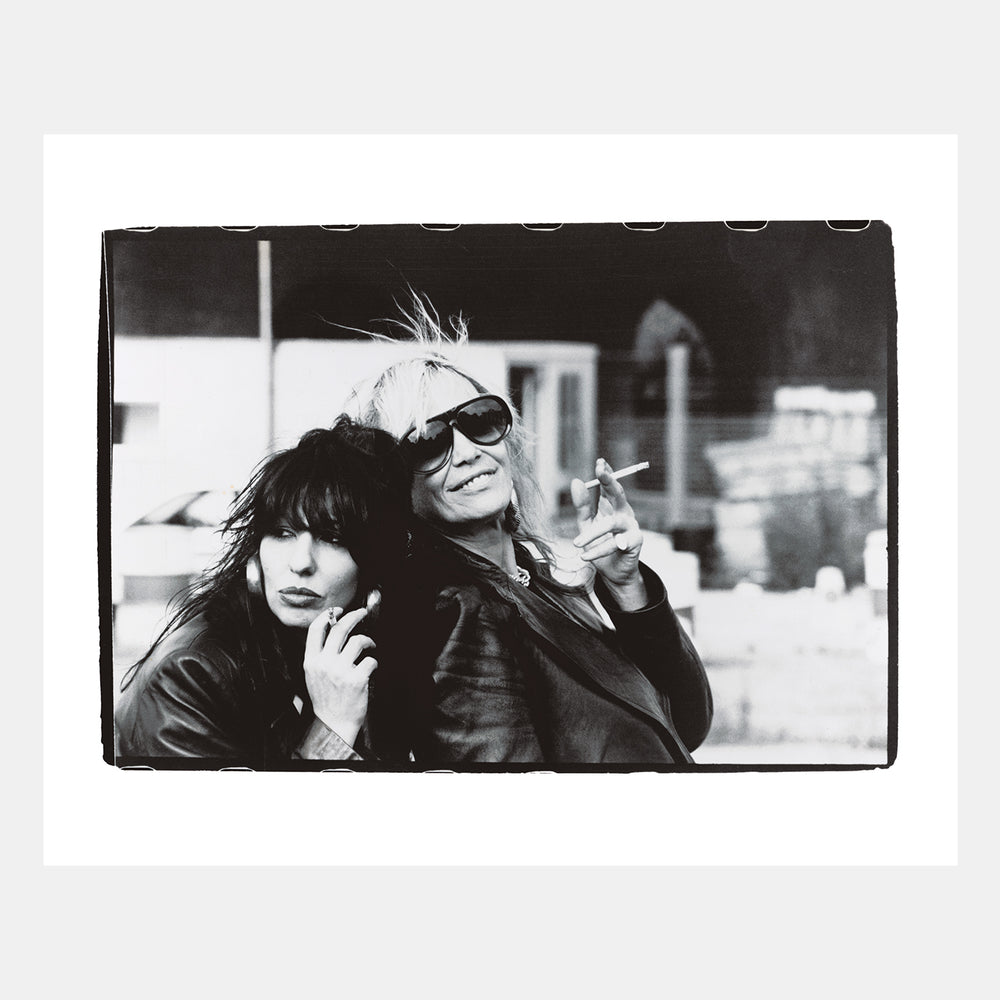 BP Fallon: Patti Palladin & Anita Pallenberg (London 1997)