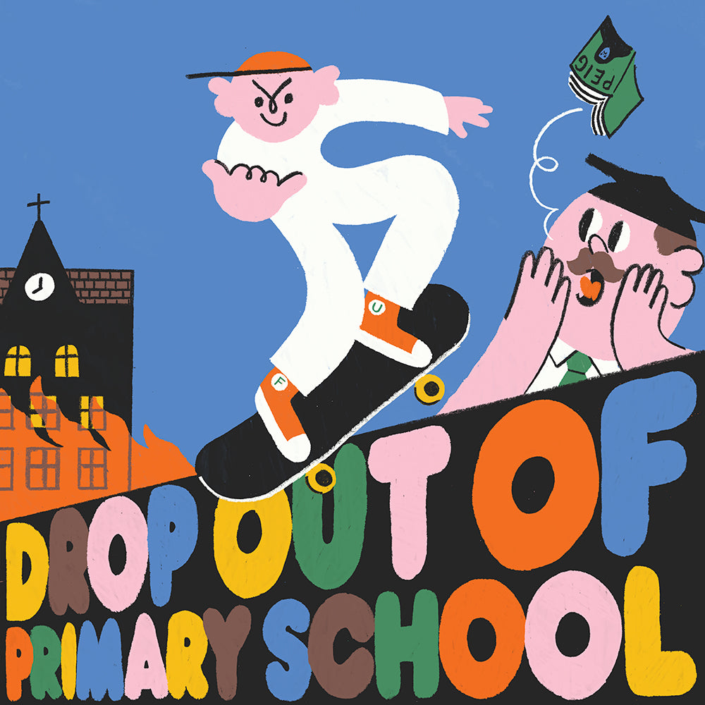 'Drop out of Primary School' by Ruan Van Vliet