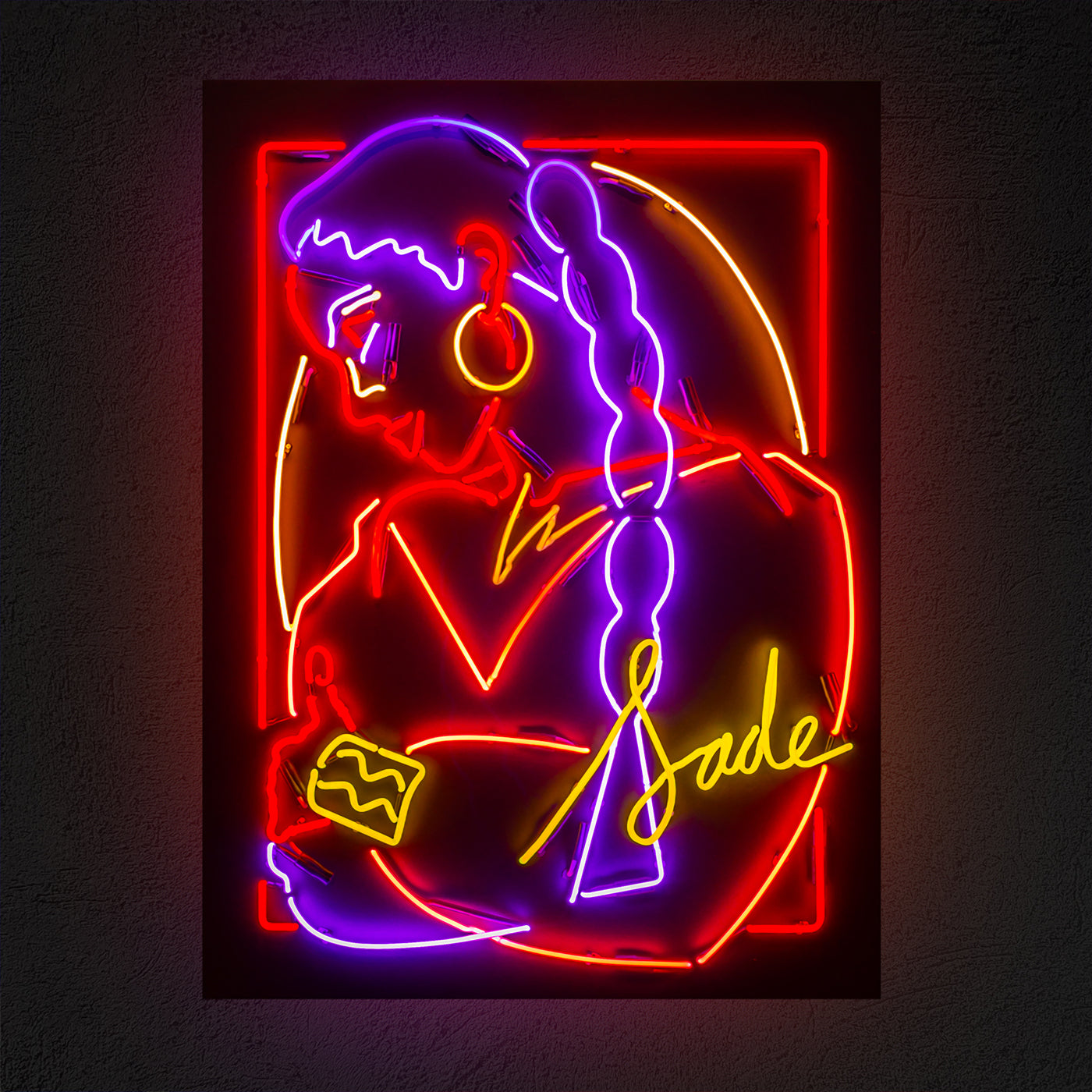 Sade: Honey Dijon x Marina Esmeraldo: Black Girl Magic - Neon - Hen's Teeth Store