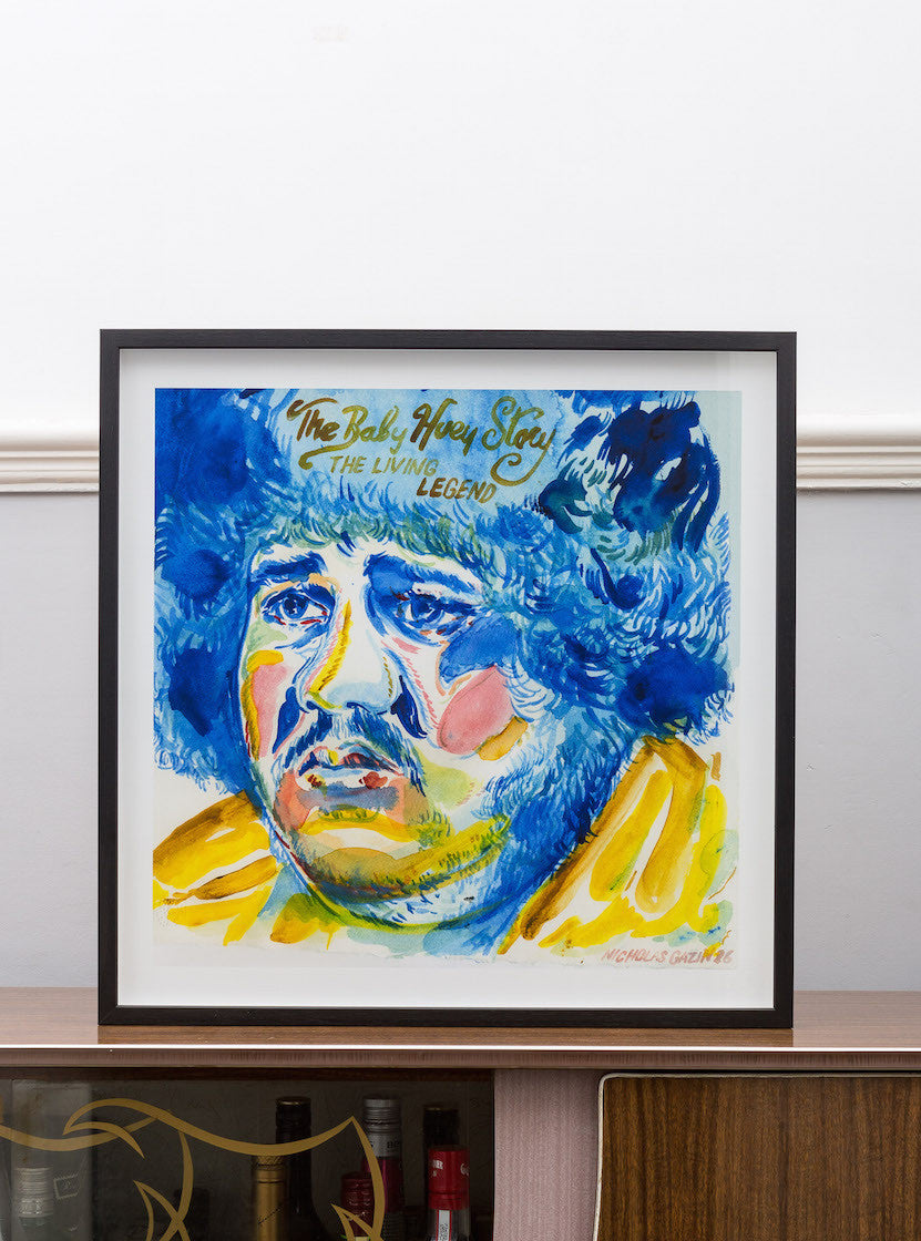 Fantasy 12 Nick Gazin Baby Huey Limited Edition Art Print Wall Hanging