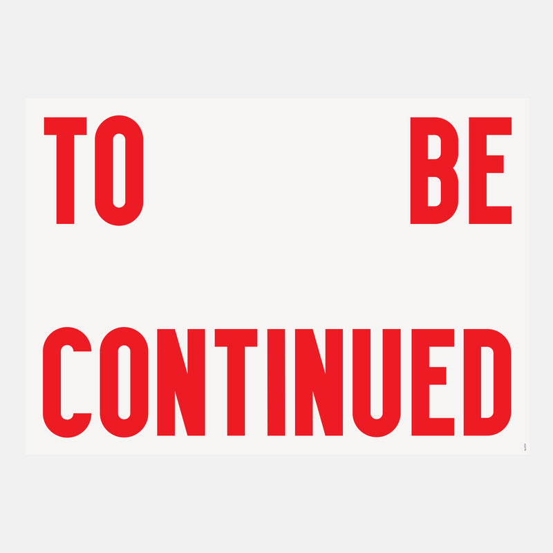 Ben Grandgenett: To Be Continued - Hen's Teeth Store