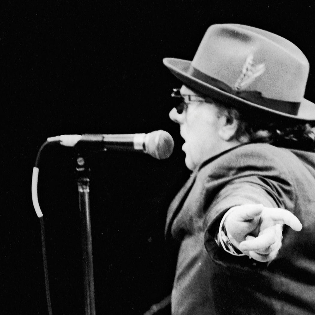 Van Morrison, New Orleans 1996 by BP Fallon