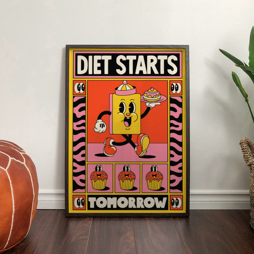 Load image into Gallery viewer, Yeye Weller: Diet Starts Tomorrow