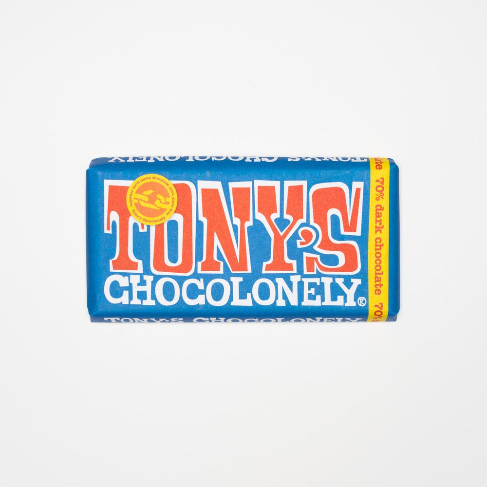 Tony's Chocolonely - Belgian Fairtrade 70% Dark Chocolate