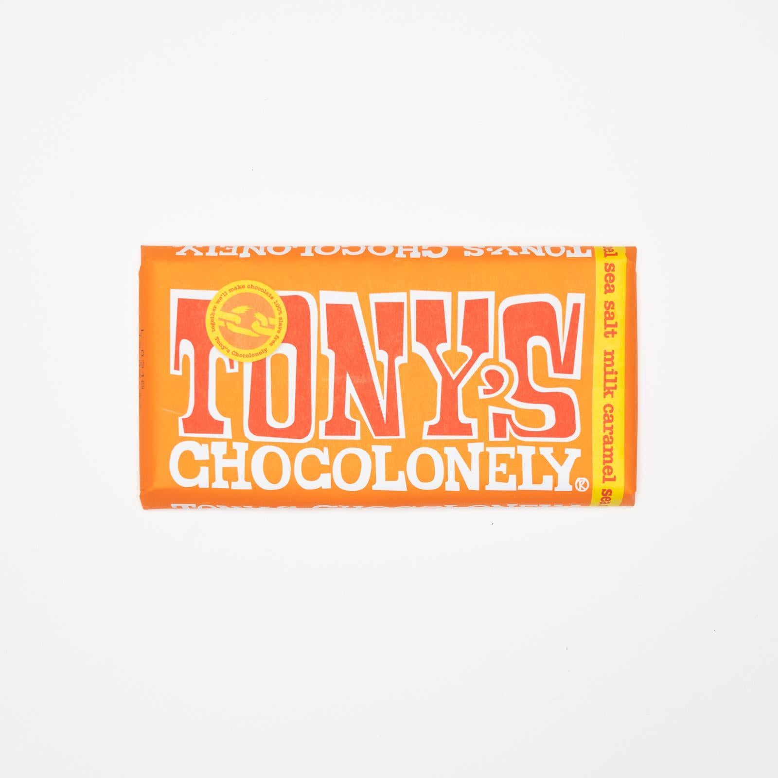Tony's Chocoloney - Milk Caramel Sea Salt