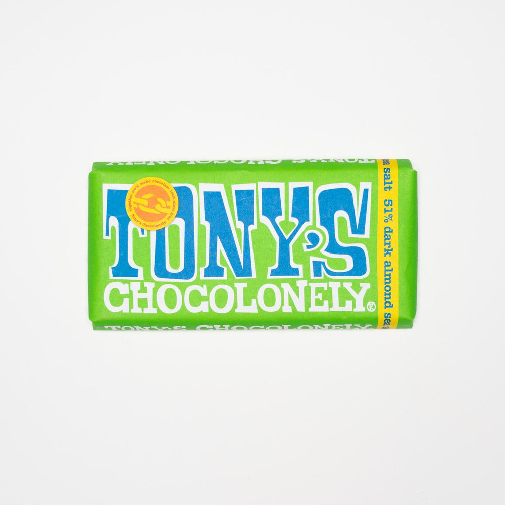 Tony's Chocoloney - Dark Almonds and Sea Salt