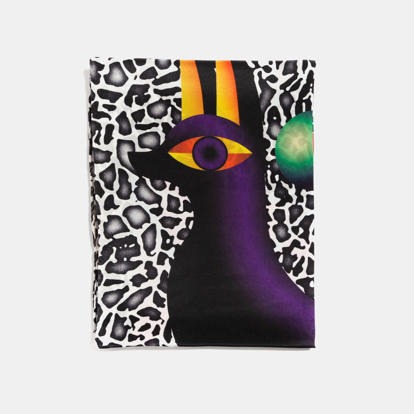Niall Sweeney: Dark Matter Silk Scarf - Hen's Teeth Store