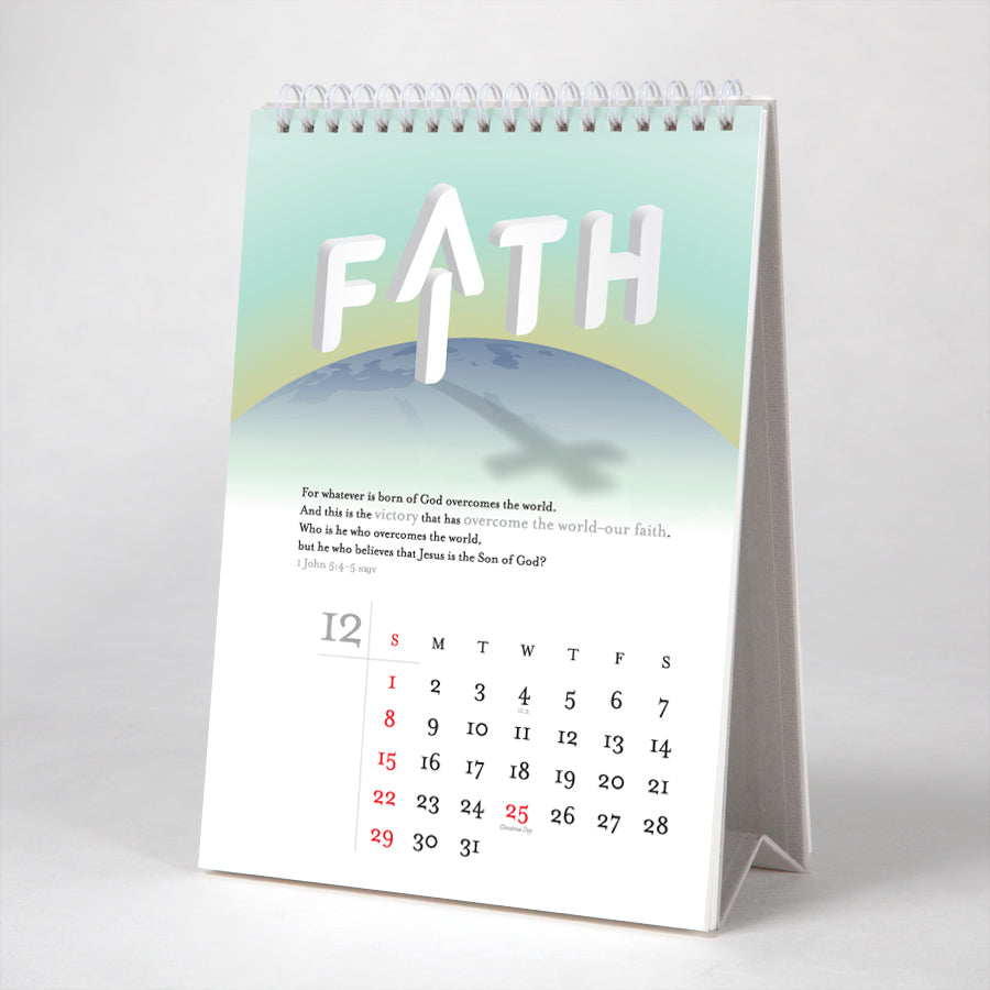 Faith is... from 12 verses from the New Testament