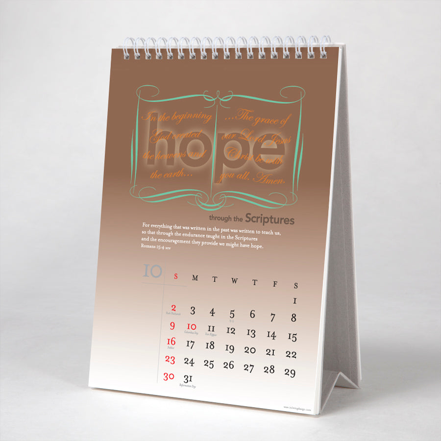 Hope is... 12 verses from the Bible