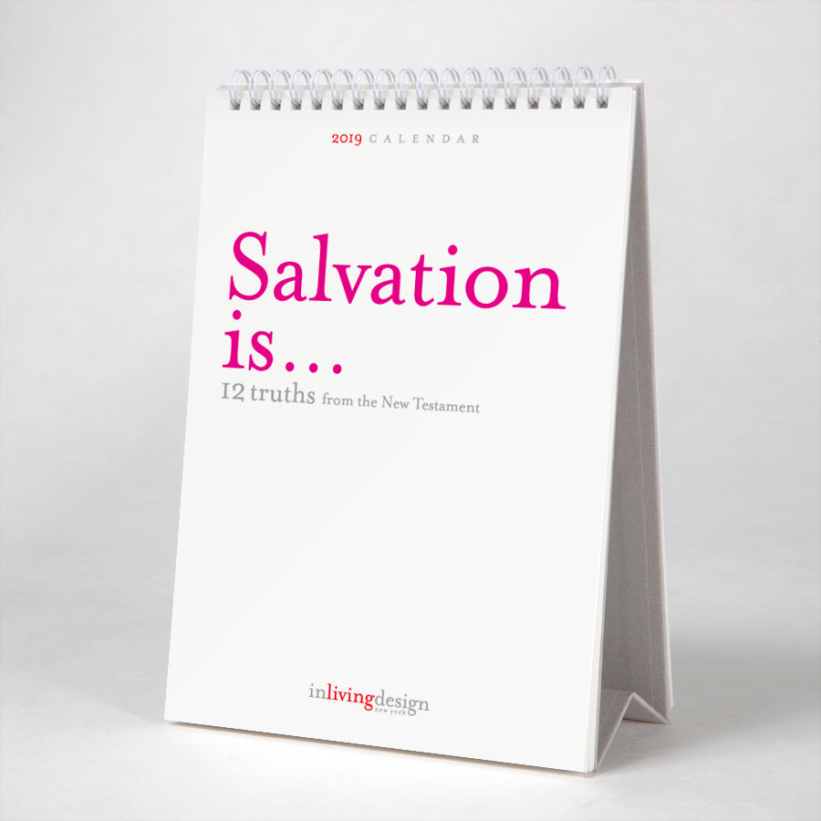 Salvation is... 12 truths from The New Testament