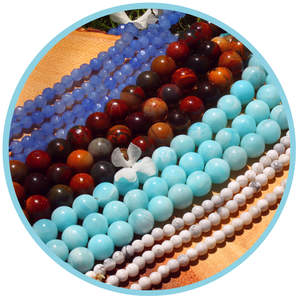 Beads - gemstones