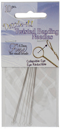 Twisted Needle, 0.23mm, 10 pcs