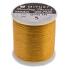 Nylon Beading Thread B, Gold, ~ 50 meters