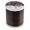 Nylon Beading Thread B, Brown, ~ 50 meters