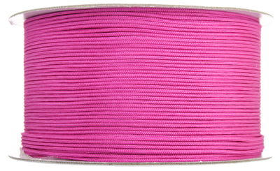 Lovely Knots, Asian Knotting Cord, Strawberry Pink, 1mm, ~ 180 yards