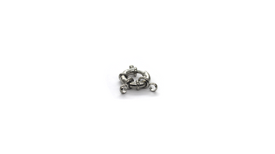 Clasp, Springring, Silver, Alloy, 25mm x 16m x 6mm, Sold Per pkg of 1