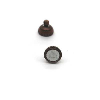 Clasp, Magnetic Sphere Clasp, Copper, Alloy, 14mm x 8mm, Sold Per pkg of 1