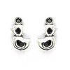 Charms, Rubby Ducky, Silver, Alloy, 15mm X 9mm X 4mm, Sold Per pkg of 8