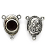 Charms, Terra Jerusalem Centerpiece, Silver, Alloy, 19mm x 15mm, Sold Per pkg 2