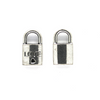 Charms, Love Lock, Silver, Alloy, 17mm X 10mm X 4mm, Sold Per pkg of 6
