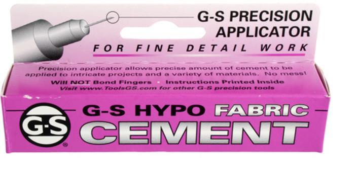 Adhesive, G-S Hypo Fabric Cement Glue. Sold per 9ml tube - Butterfly Beads