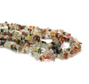 Chipped Assorted Agate, Semi-Precious Stone, Approx. 300 pcs per strand