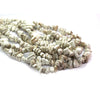 Large Chipped White Turquoise, Semi-Precious Stone, Approx. 150 pcs per strand