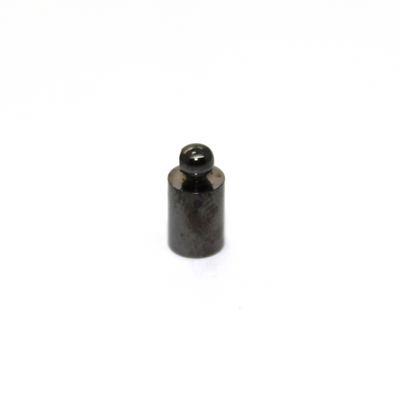 Terminator, Cord Ends, Gunmetal, Alloy, 10mm x 5mm, Sold Per pkg of 12