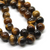 Tiger Eye, Semi-Precious Stone, 10mm, 38 pcs per strand