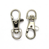 Clasp, Lobster Clasp with Handle, Silver, Alloy, 39mm x 15.5mm x 6mm, Sold Per pkg of 3