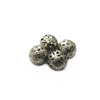 Spacers, Small Hollow Ball, Alloy, Antique Silver, 14mm X 14mm, Sold Per pkg of 6